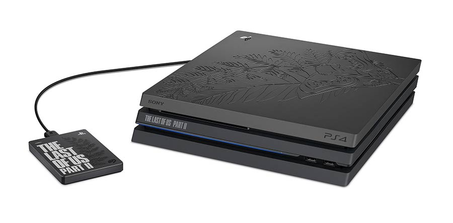 La nueva PS4 Pro de edición limitada de The Last of Us trae un labrado de alto relieve inspirado en los tatuajes de Ellie, la protagonista del juego. Foto: PlayStation.com