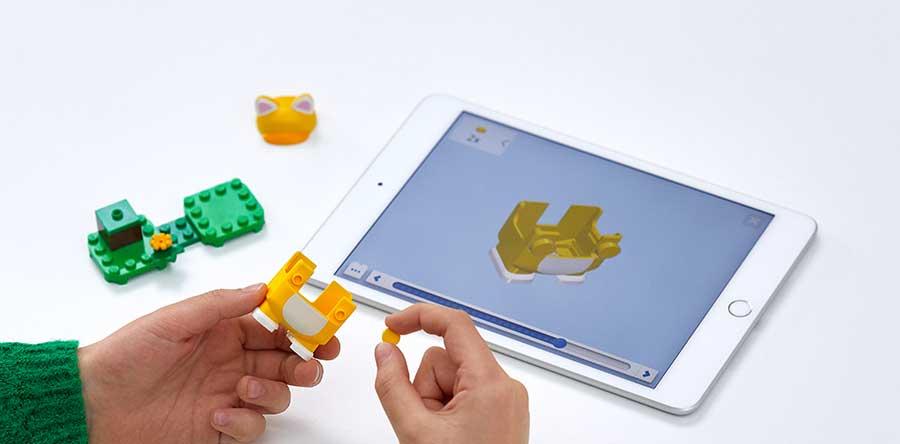 Lego y Nintendo se han aliado para crear este set de bloques para armar de Super Mario Bros. Foto: Lego.com
