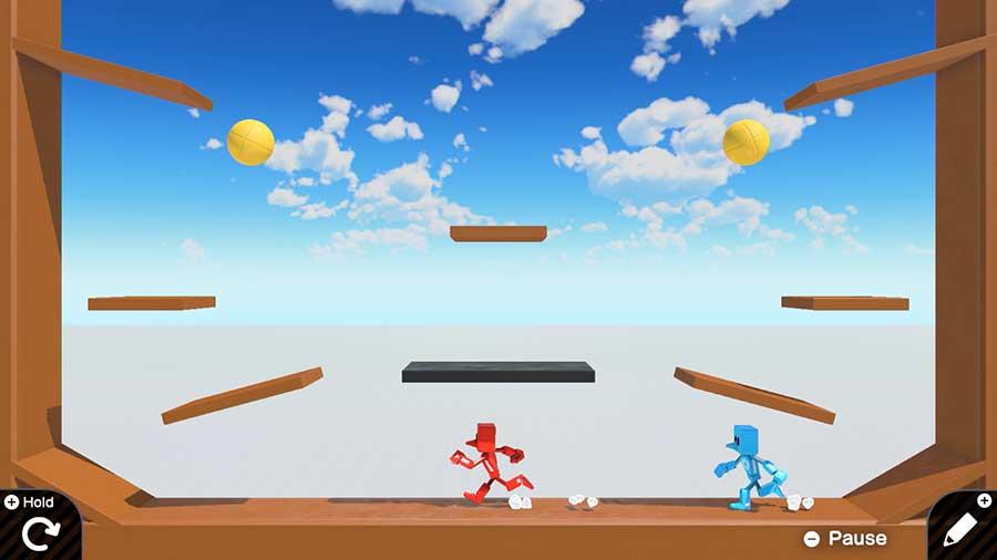 Luego de repasar el modo lección, tu juego cobrará vida. ¡No habrá límites para tu imaginación! Foto: Nintendo