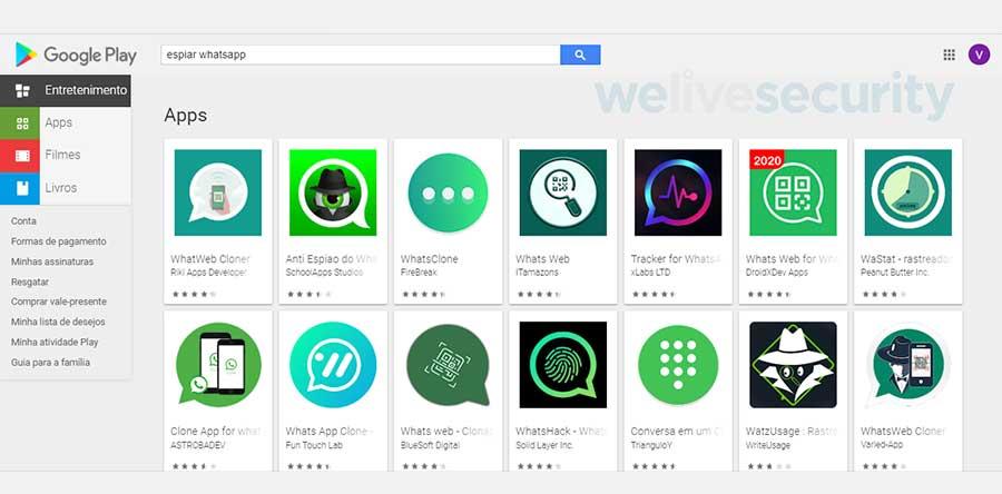 Varias aplicaciones ofrecen funciones con las que realmente no cumplen. Foto: ESET