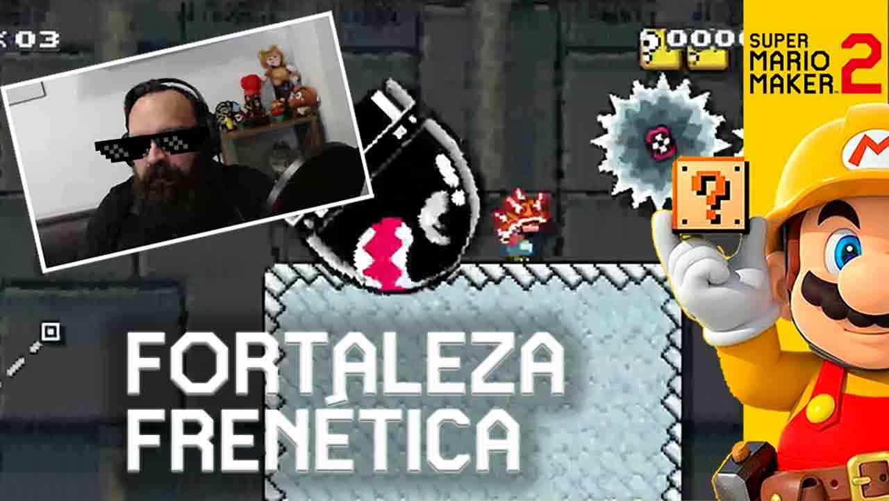 Fortaleza frenética – Super Mario Maker 2 [Gameplay]