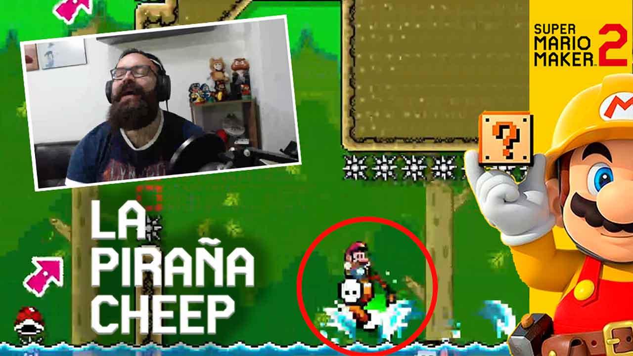 La piraña cheep – Super Mario Maker 2