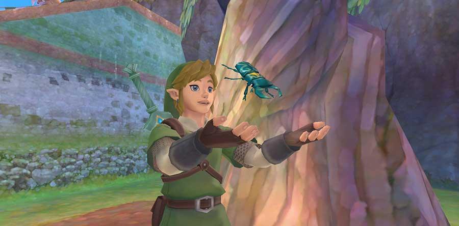 Revive los orígenes de la leyenda de Zelda en The Legend of Zelda: Skyward Sword HD. Foto: Nintendo