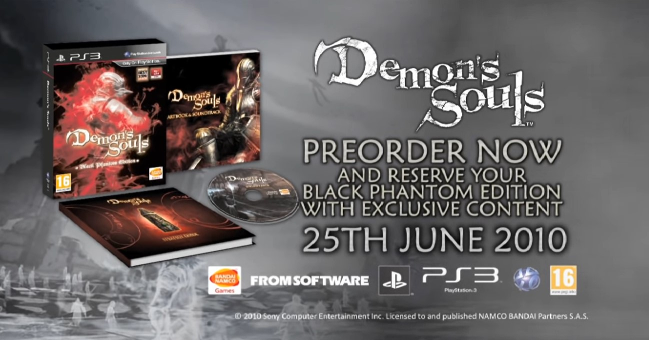 Demon's Souls - Tráiler original (PS3)