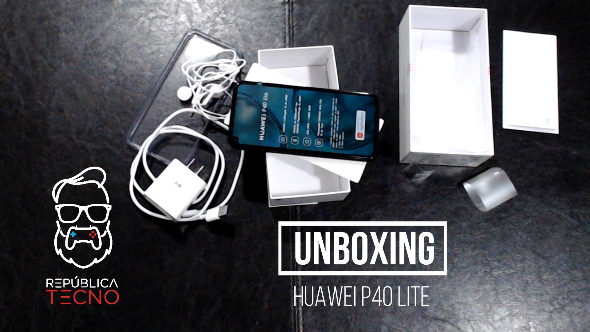 Unboxing: Estas son las características del Huawei P40 Lite - reseña
