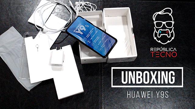 Unboxing: Conoce las características del Huawei Y9s
