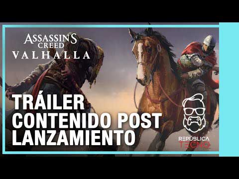 Assassin's Creed Valhalla - Mapa Post Lanzamiento y Pase de Temporada [Tráiler]